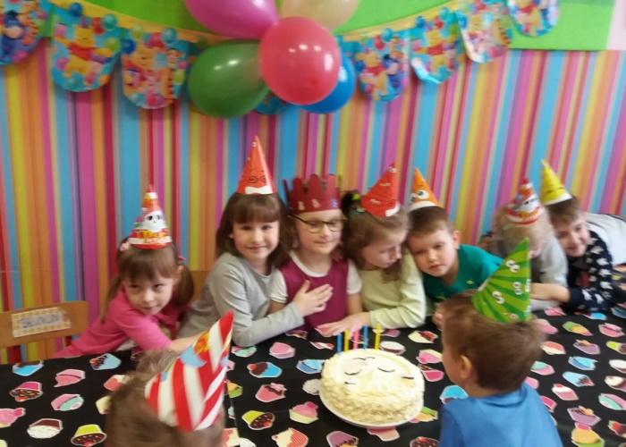 Przedszkole Pszczółka w Lublinie, urodziny Wiktorki