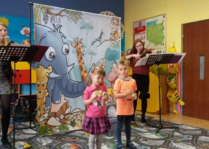 Przedszkole Pszczółka w Lublinie, wiosenny koncert Muz Art